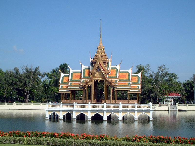 泰国山区风景图片